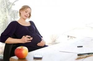Ущемление беременной матки в малом тазу